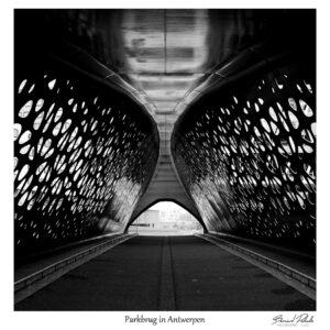 Parkbrug in Antwerpen