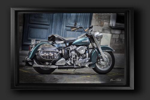 Harley Davidson hydra glide 1955