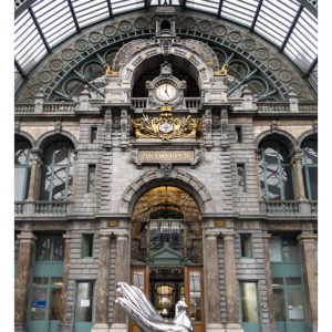 La gare de Anvers-Central